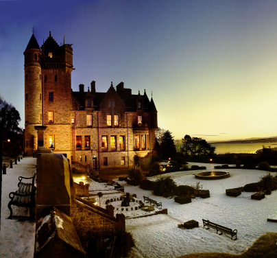 Belfast Castle at Christmas